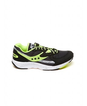 SNEAKERS AYA NERE E GIALLO FUO - Sneakers SAUCONY