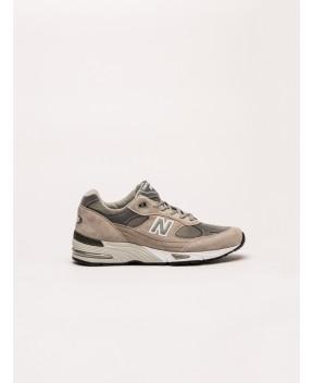 SNEAKER 991 BEIGE E GRIGIE - Sneakers NEW BALANCE