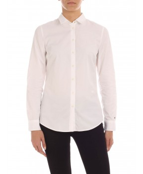 CAMICIA THE ESSENTIAL BIANCA - Camicie&Bluse TOMMY HILFIGER