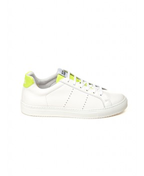 SNEAKERS EDITION 4 BIANCHE E GIALLE FLUO - Sneakers NATIONALSTANDARD