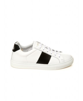 SNEAERS EDITION 4 LOW BIANCHE E NERE - Sneakers NATIONALSTANDARD
