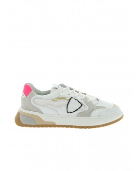 SNEAKERS SAINT DENIS LOW BIANCHE - Sneakers PHILIPPE MODEL