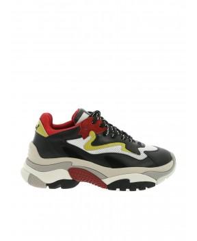SNEAKERS ADDICT NERE E MULTICOLOR - Sneakers ASH