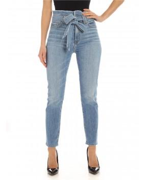 JEANS PAPERBAG AZZURRI - Jeans&Denim 7 FOR ALL MANKIND