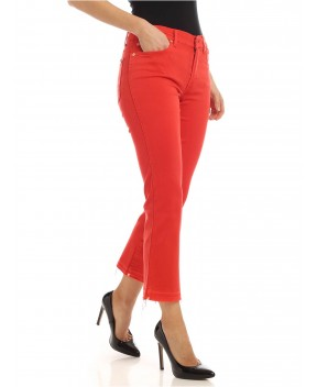 JEANS CROPPED BOOT UNROLLED ROSSO - Jeans 7 FOR ALL MANKIND