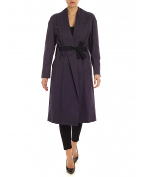 TRENCH LALLE BLU - Trench&Impermeabili SEMICOUTURE