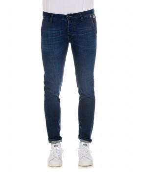 JEANS ELIAS CUT BLU - Jeans ROY ROGERS