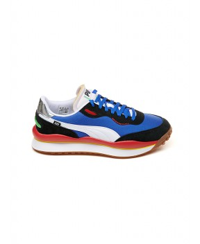 SNEAKERS STYLE RIDER PLAY ON BLU - Sneakers PUMA