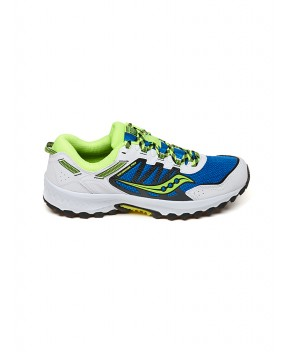SNEAKERS EXCURSION TR13 BIANCHE E BLU - Sneakers SAUCONY