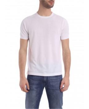 T-SHIRT BIANCA IN MAGLIA - T-Shirt KANGRA