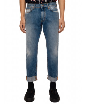 JEANS CULT EDGE BLU - Jeans ROY ROGERS