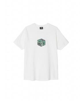 T-SHIRT CUBE BIANCA - T-Shirt&Top STUSSY
