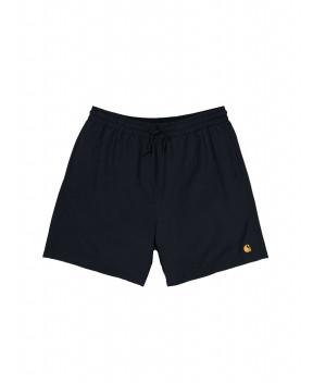 COSTUME CHASE NERO - Costumi&Beachwear CARHARTT