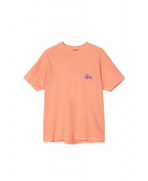 T-SHIRT BASIC ARANCIO - T-Shirt&Top STUSSY