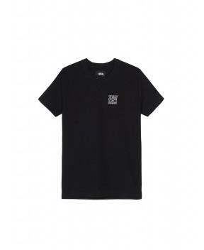 T-SHIRT CLASSIC RIB NERA - T-Shirt&Top STUSSY