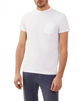 T-SHIRT REVO BIANCA CON TASCHINO - T-Shirt RRD ROBERTO RICCI DESIGN