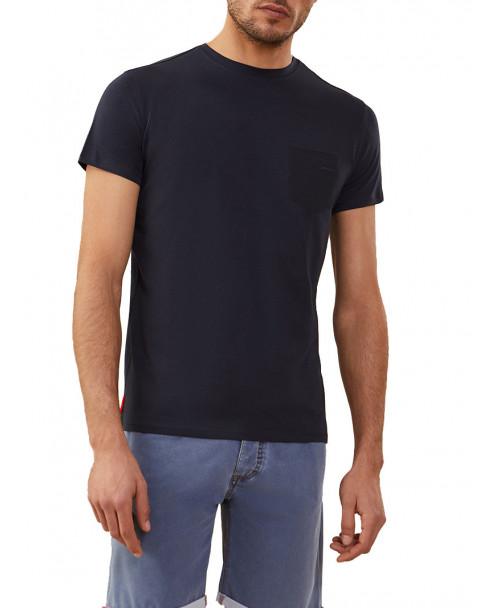 T-SHIRT REVO BLU SCURO CON TASCHINO - T-Shirt RRD ROBERTO RICCI DESIGN