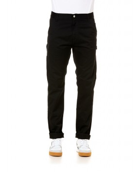 PANTALONE RUCK SINGLE KNEE NERO - Pantaloni CARHARTT