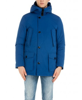 CITY PARKA BLU DENIM - Piumini WOOLRICH