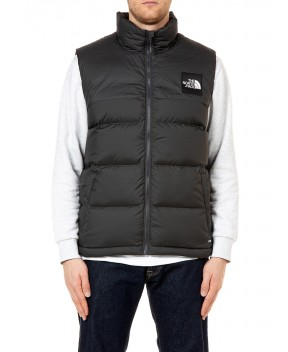 PIUMINO SMANICATO 1992 NUPTSE ANTRACITE - Gilet THE NORTH FACE