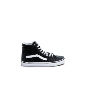 SNEAKERS SK8-HI IN VELLUTO NERO - Sneakers VANS