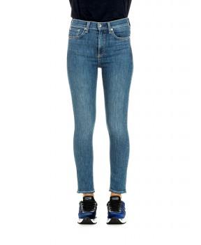 JEANS A VITA ALTA BLU - Jeans&Denim RAG & BONE