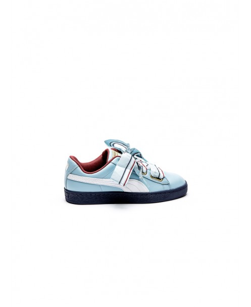 brand new b8609 606c5 BASKET HEART NEW SCHOOL LIGHT BLUE SNEAKERS