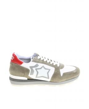 SNEAKERS SIRIUS GRIGIE E BIANCHE - Sneakers ATLANTIC STARS