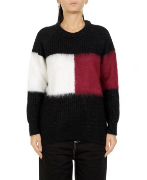 MAGLIA TALILA NERA - Maglie TOMMY HILFIGER ICONS