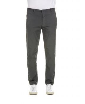 FANTALONE CHINO ANTRACITE - Pantaloni TRANSIT