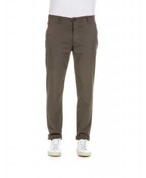 FANTALONE CHINO FANGO - Pantaloni TRANSIT