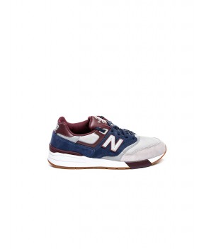 SNEAKERS 597 GRIGIA, BLU E BORDEAUX - Sneakers NEW BALANCE