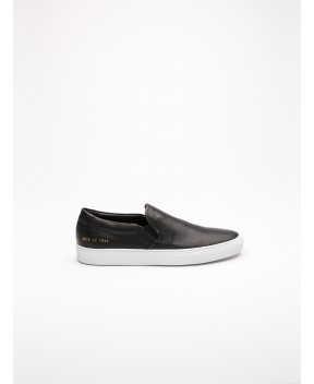 SLIP ON PERF NERE - Sneakers COMMON PROJECTS