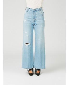JEANS PALAZZO A VITA ALTA - Jeans&Denim (+) PEOPLE