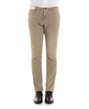 PANTALONE CHINO IN GABARDINE - Pantaloni INCOTEX
