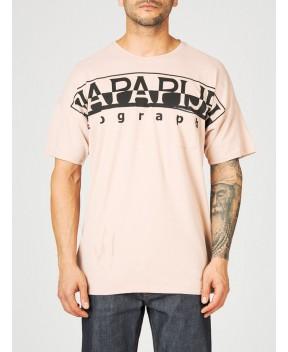 T-SHIRT IN COTONE - T-Shirt NAPAPIJRI