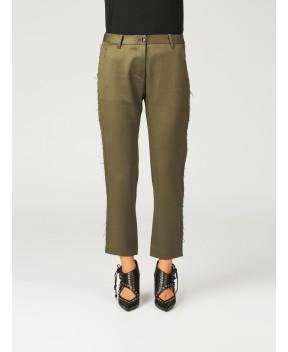 PANTALONY CADY IN MISTO COTONE - Pantaloni NINE INTHE MORNING