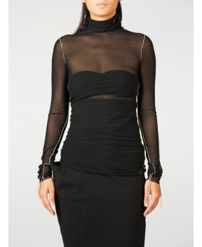 TOP IN TULLE - T-Shirt&Top NOSTRASANTISSIMA